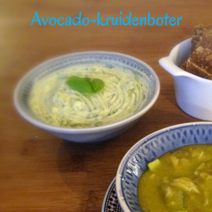 Avocado-kruidenboter