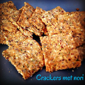 Crackers met nori