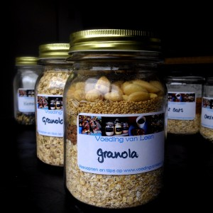 Probeerpot granola